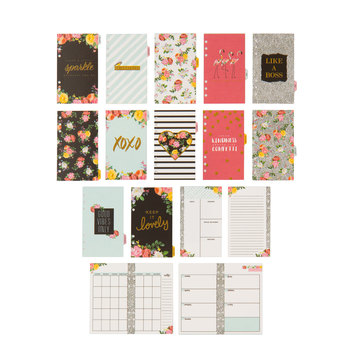 Petals & Blooms Non-Dated Planner Inserts - 12 Month