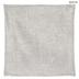 Silver Woven Pillow Cover