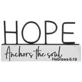 Hebrews 6:19 Metal Decor