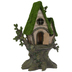 Fairy House With Moss Roof