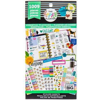 Essential Planning Happy Planner Stickers