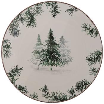 Pine Tree Foliage Plate