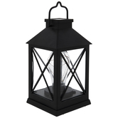 Black Light Up LED Lantern