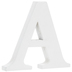 White Wood Letter A - 3
