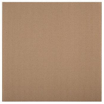 """Corrugated Cardboard Scrapbook Paper - 12"""" x 12"""""""