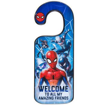 Spider-Man Wood Door Hanger