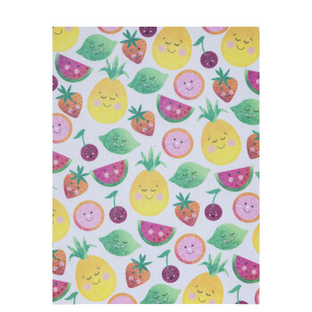 Happy Fruits Felt Sheet