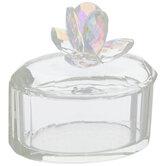 Iridescent Crystal Jewelry Box