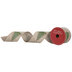 Merry Christmas Tree Wired Edge Ribbon - 2 1/2