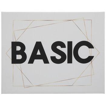 Basic Canvas Wall Decor