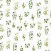 Watercolor Cactus Knit Fabric