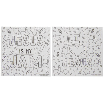 Jesus Is My Jam Coloring Puzzle Craft Kit