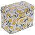 Lemon Metal Recipe Box