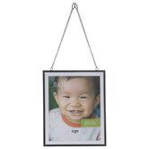 """Black Hanging Metal Wall Frame - 8"""" x 10"""""""