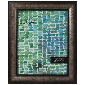 Pewter & Black Wood Wall Frame