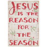 Jesus Is The Reason Wood Wall Decor