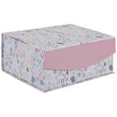 Soft Pastel Floral Rectangle Box