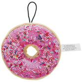 Donut Plush Squeaky Dog Toy