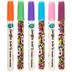 Bright Tulip Graffiti Fabric Markers - 6 Piece Set
