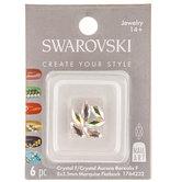 Marquise Swarovski Flatback Nail Crystals