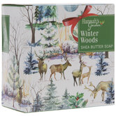 Winter Woods Shea Butter Soap Bar