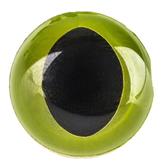 Light Green Cat Eyes - 15mm