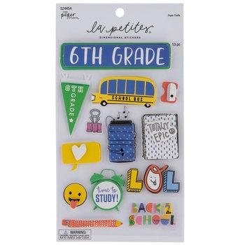 Sixth Grade 3D Stickers