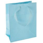 Light Blue Gift Bags - Medium