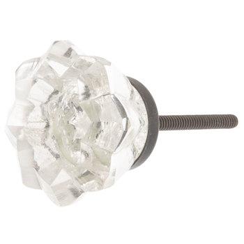 Star Cut Glass Knob