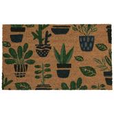 Potted Plants Doormat
