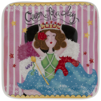 Queen For A Day Jewelry Dish