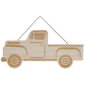Vintage Truck Wood Wall Decor