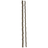 Fluted Round Bead Strands