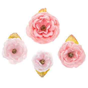 Pink Montse Prima Flower Embellishments