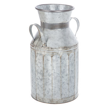 Galvanized Metal Milk Can