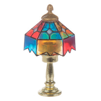 Miniature Tiffany Lamp
