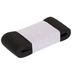 Black Knit Heavy Stretch Elastic - 1 1/2