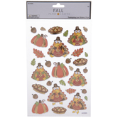 Thanksgiving Icon Foil Stickers