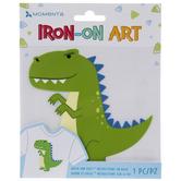 Green Dinosaur Iron-On Applique