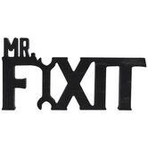 Mr Fixit Wood Wall Decor