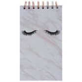 Lashes Marble Notebook