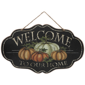 Welcome To Our Home Ornate Wood Wall Decor