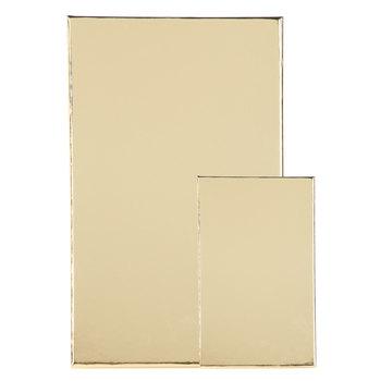 Gold Foil Nested Rectangle Box Set