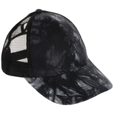 Black Tie-Dye Baseball Cap