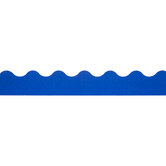 Blue Glimmer Scalloped Trimmer