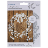 Holly Wreath & Adornments Dies