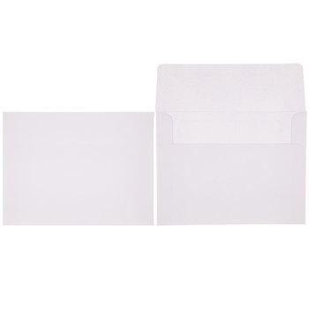 White Scallop Cards & Envelopes - A2
