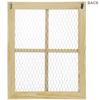 Chicken Wire Wood Frame