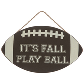 It's Fall Play Ball Wood Wall Decor
