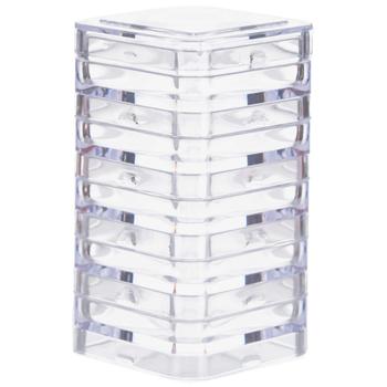 10-Piece Mini Square Storage Boxes